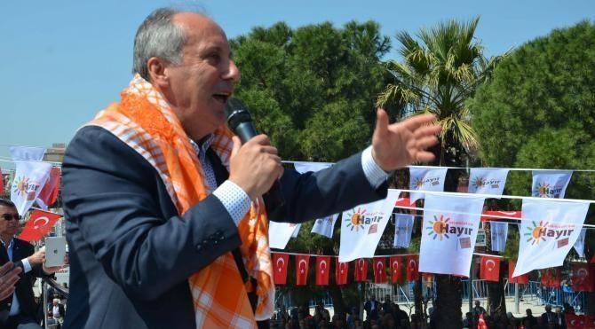 CHP'li İnce: Bak Binali Yıldırım, ben senin gibi abidik gubidik yöntemlerle milletvekili olmadım (2)