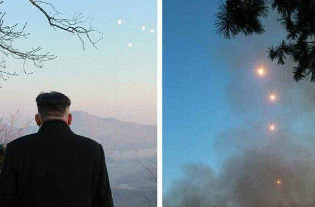 Füze denemesine Kim Jong-un bizzat katıldı.