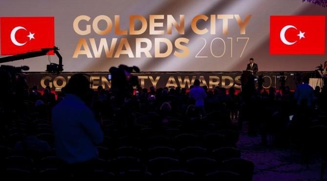 'Golden City Awards 2017' ödülleri sahiplerini buldu