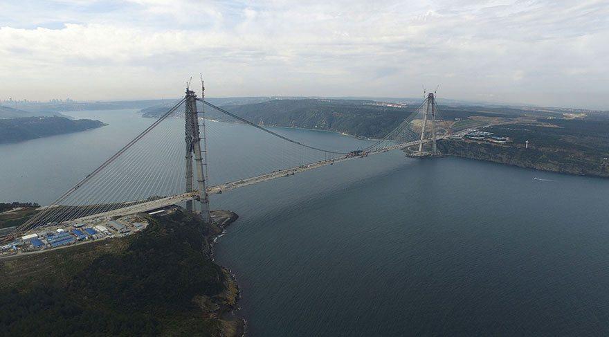 3. köprüyü özel sektör yaptı, bakımını vatandaş yapıyor