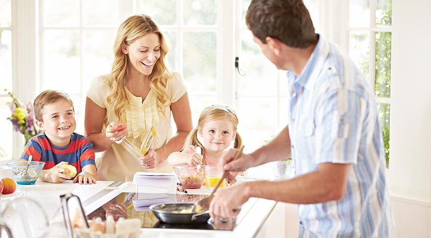 Ailelerin en keyifli buluşma noktası Kahvaltı sofraları