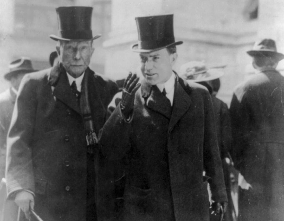 Rockefeller hanedanlığının kurucusu John D. Rockefeller Fotoğraf: Pinterest