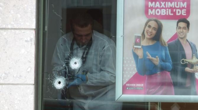 Pendik'te banka soygunu girişimi: 2 yaralı (1)