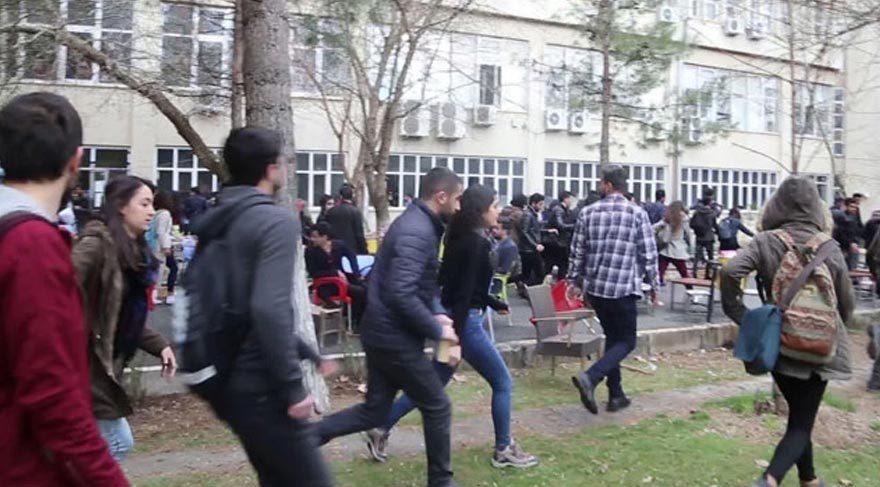 Dicle Üniversitesi'nde nevruz gerginliği
