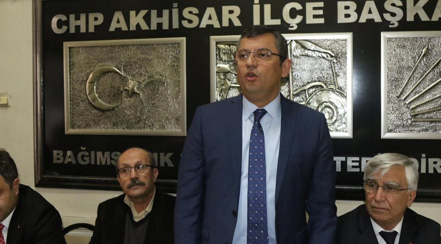 CHP'li Özel'den Cumhurbaşkanı'na tepki!