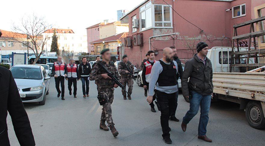 İstanbul'da helikopter destekli dev uygulama!