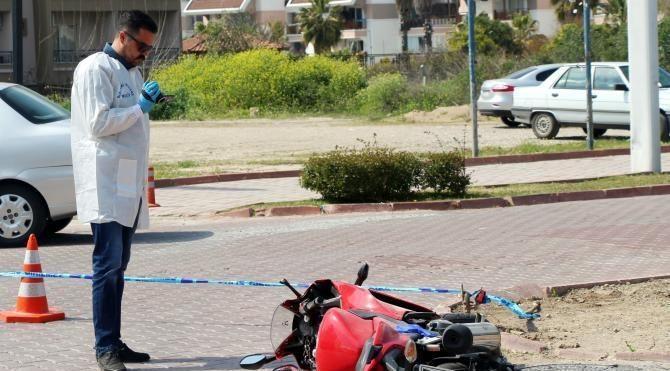 Kamyonla motosiklet çarpıştı: 2 yaralı