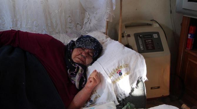 KOAH'lı kadın, 1700 TL'lik elektrik faturasını ödeyemedi