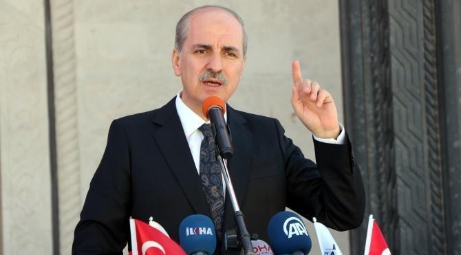 Kurtulmuş: Kimse Türkiye'nin iç işlerine burnunu sokmasın (2)
