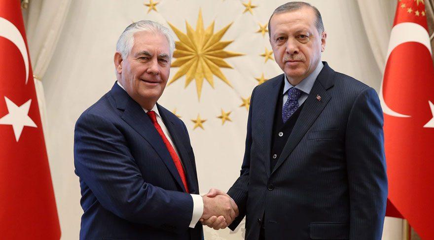 ABD Dışişleri Bakanı Tillerson Ankara'da