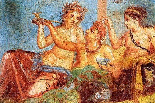 antik-roma-ziyafet