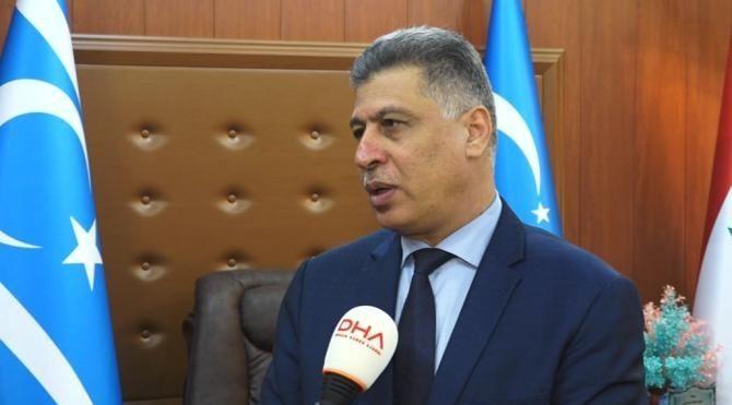 (Özel) Irak Türkmen Cephesi Başkanı: Her iki taraf da bayraklarını indirmeli