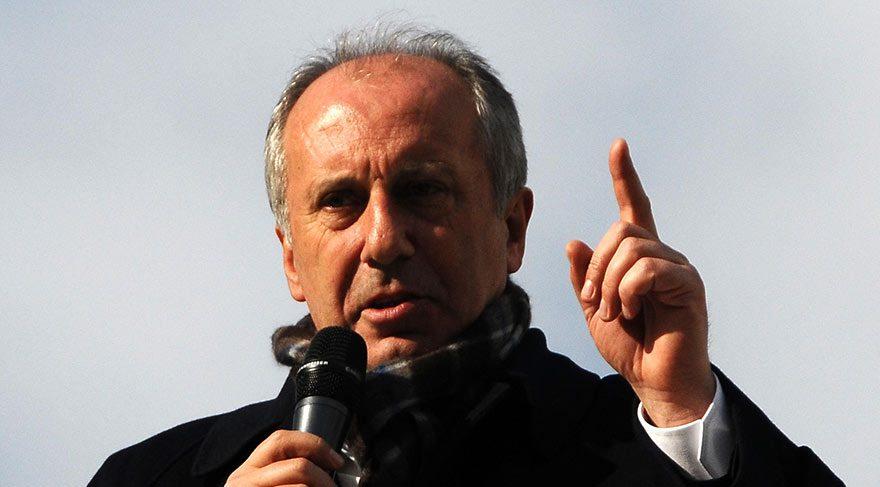 Muharrem İnce: Sen kimsin ki kendini Mustafa Kemal'le kıyaslıyorsun