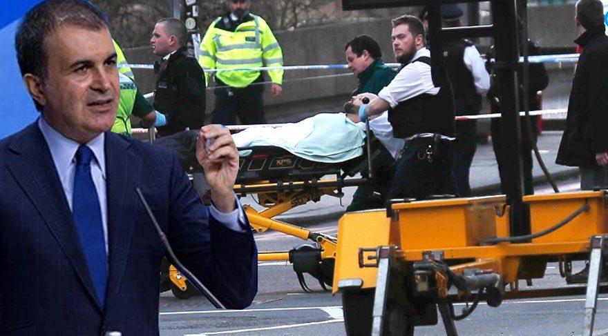 Londra'daki saldırıyla ilgili Türkiye'den ilk açıklama