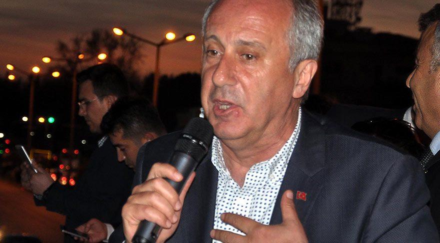 CHP'li İnce: Bir başbakan 'Beni yok edin' diye oy ister mi