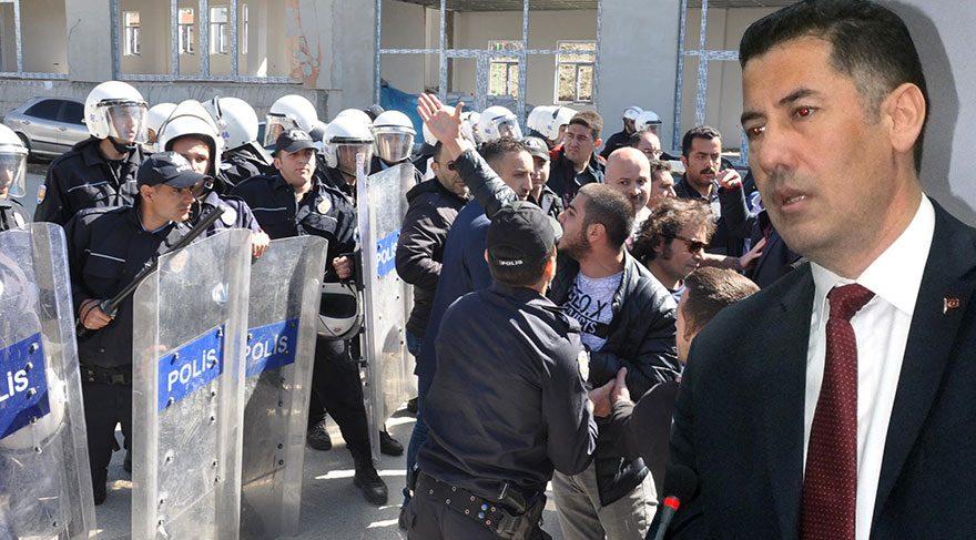 Sinan Oğan'ın Yozgat toplantısında arbede: 2 polis yaralı
