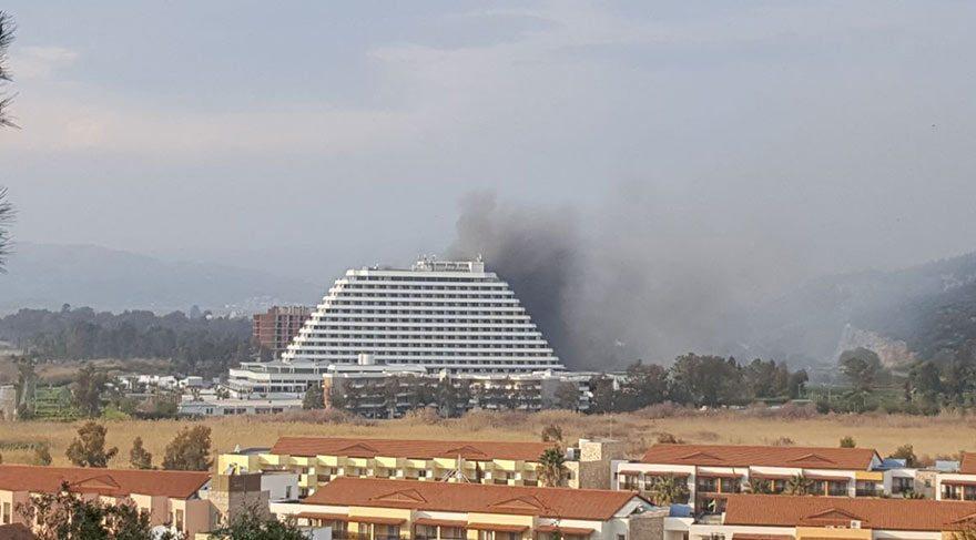 İzmir'de 5 yıldızlı otelde yangın!