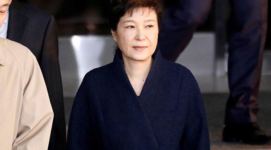 Eski Güney Kore Cumhurbaşkanı gözaltına alındı