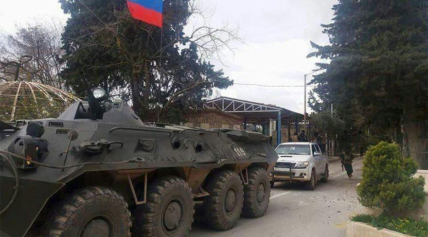 Ruslar, Afrin'de 'Terörle mücadele' için üs kuruyormuş!