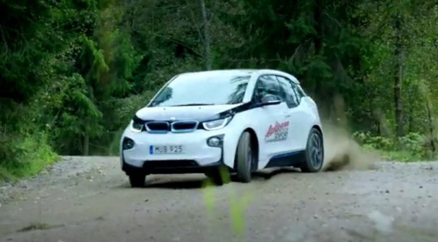 Elektrikli BMW i3'den ralli arabası olur mu?