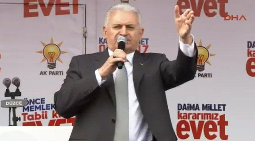 Binali Yıldırım: Bir de HDP var. Buna yuh çekin