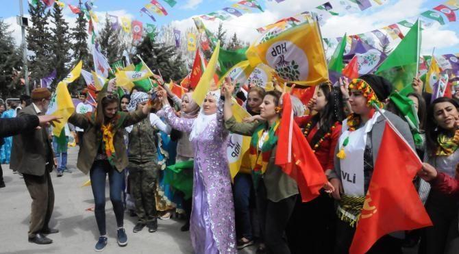 Gaziantep'te, nevruz kutlamalarında ateş yakılmasına izin verilmedi