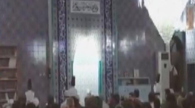 Camide sema gösterisi
