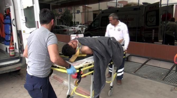 El Bab'da patlama oldu, 1 çocuk yaralandı