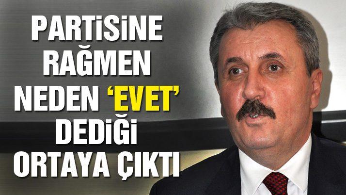 BBP İstanbul İl Başkanı: 'Mustafa Destici Cumhurbaşkanı adayı olacak'