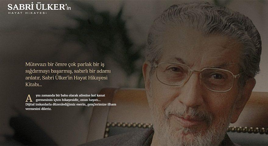 Sabri Ülker'in hayat hikayesi dijitalde