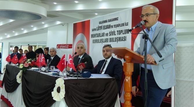Bakan Elvan: Avrupa neden 'hayır' kampanyası yürütüyor