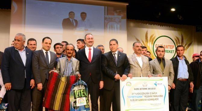 Gaziantep'te, 407 yatırımcıya, 7 milyon 620 bin liralık hibe