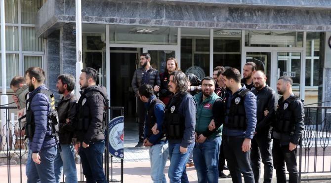 Samsun'da uyuşturucu operasyonu: 20 gözaltı