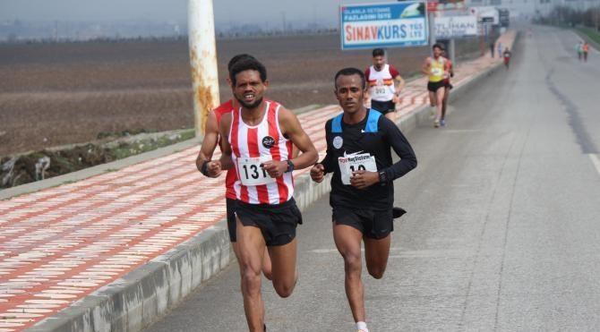 Batman'da 'Uluslaarası Yarı Maratonu'nu Etiyopyalı kazandı