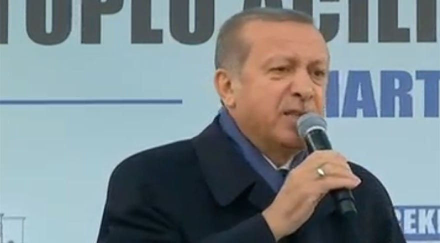 Cumhurbaşkanı Erdoğan: İspat et istifa ederim, ya sen?