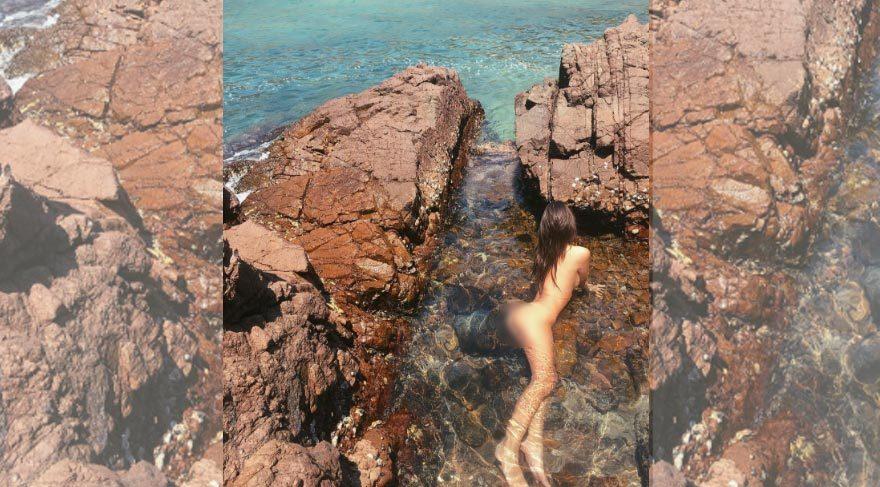 Emily Ratajkowski'nin 'deniz kızı' paylaşımı