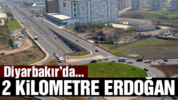 Diyarbakır'da Erdoğan hazırlığı