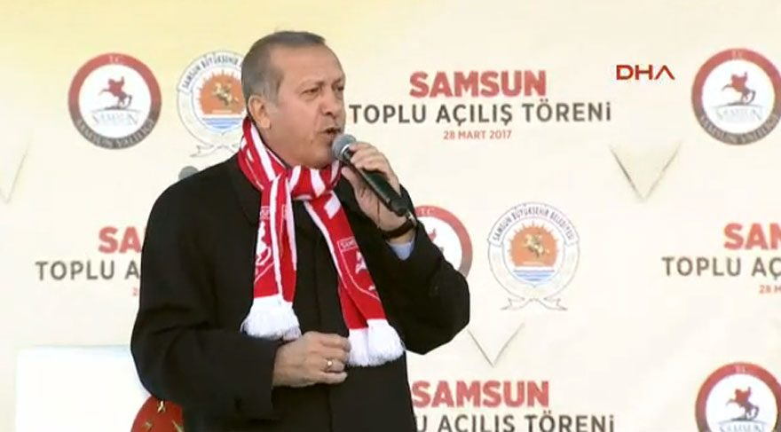 Erdoğan 'hayır' çadırında konuşulanları anlattı