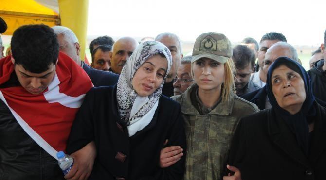Şehit Yüzbaşı'nın cenazesi Gaziantep'te (2)