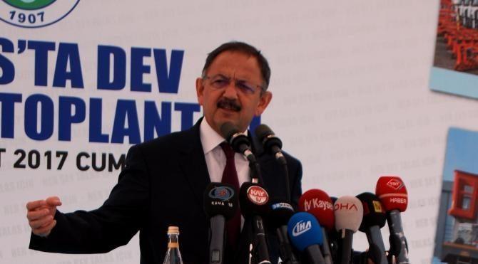 Bakan Özhaseki: Mevcut sistem kavga üretiyor