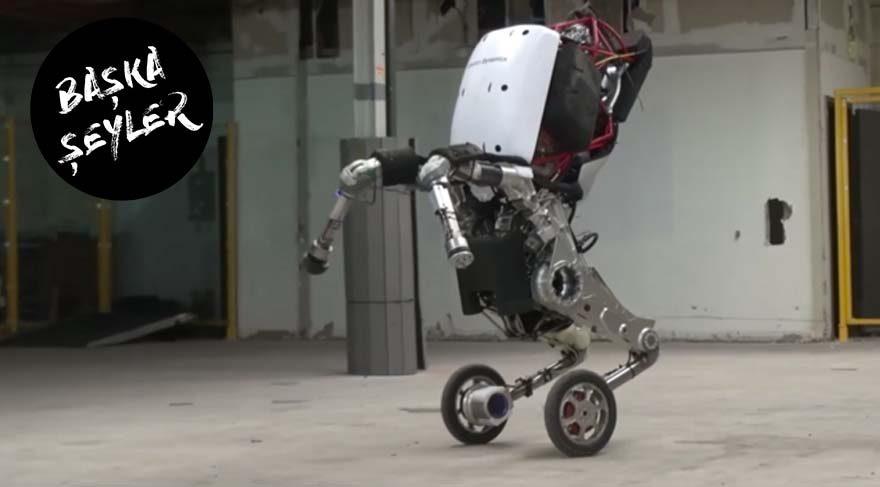 Robotlar dünyayı ele geçirir mi? Handle isterse belki!