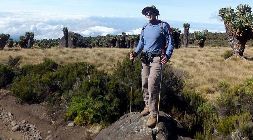 55'lik dağcı Kilimanjaro'da zirve yaptı