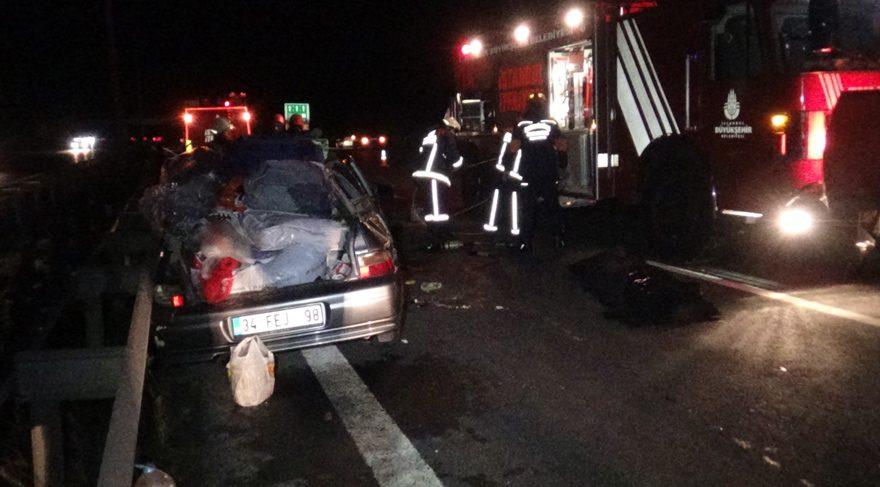 İstanbul'da feci kaza: 1 ölü 1 yaralı