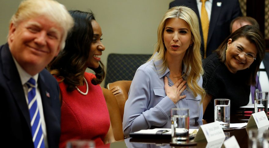 Ivanka Trump resmen Beyaz Saray çalışanı oldu