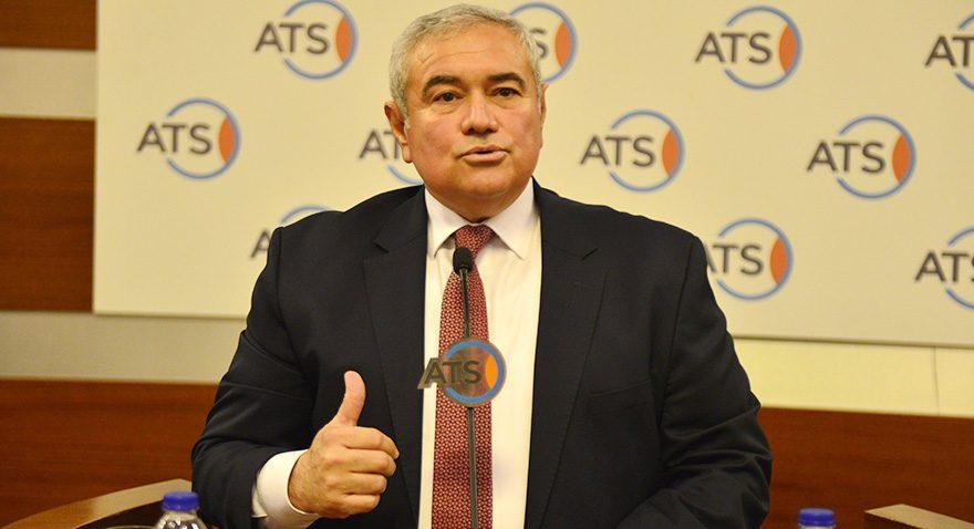 ATSO Başkanı Davut Çetin Fotoğraf: DHA