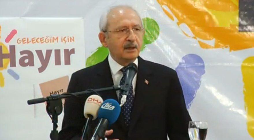 Kılıçdaroğlu Gebze'de anayasa taslağını anlattı