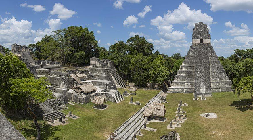 Yağmur Ormanları'nda gizlenmiş Maya kenti