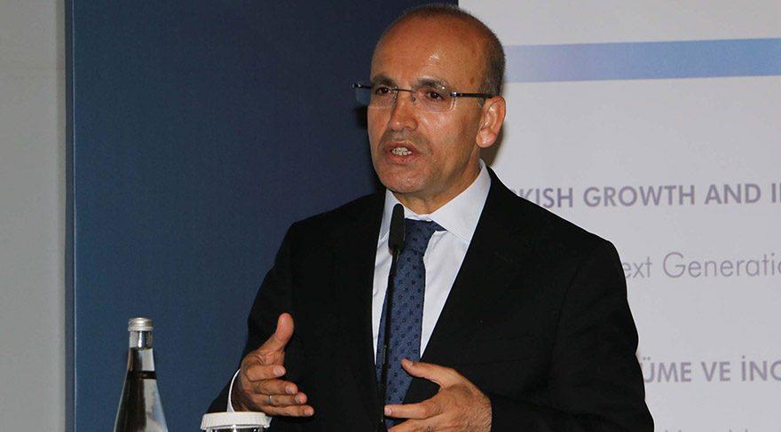 Mehmet Şimşek'ten Halkbank açıklaması