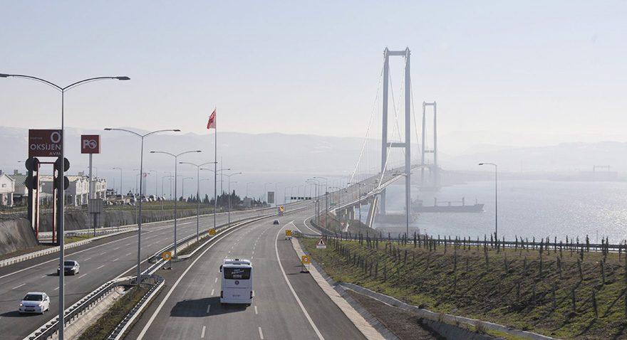 Osmangazi Köprüsü'nden kimse geçmiyor