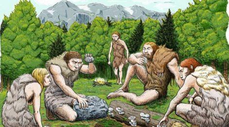 Neanderthaller bizden 50 bin yıl önce antibiyotikleri keşfetmiş